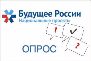 Анкета об определении информированности населения о реализации национальных проектов в Орловской области